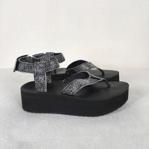 d833c3170c3 Teva Shoes -  Teva  Black White Flatform Sandal Crackle